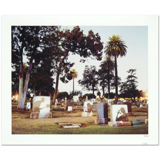 "Robert Sheer, ""Graveyard Spirits"" Limited Edition Single Exposure Photograph, Nu"