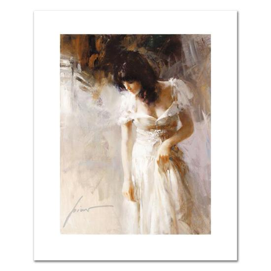 """Pino (1931-2010), """"White Rhapsody"""" Limited Edition on Canvas, Numbered and Hand"""
