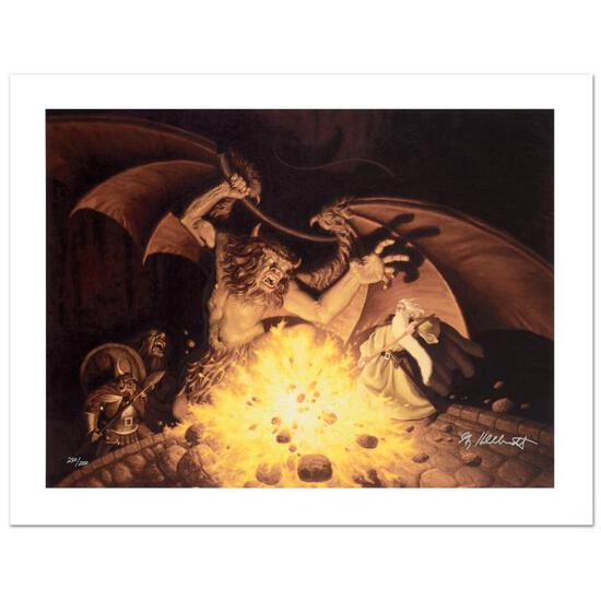 """""""Balrog"""" Limited Edition Giclee on Canvas by The Brothers Hildebrandt. Numbered"""