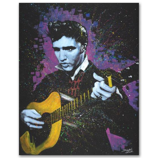 """""""A Young King"""" Limited Edition Giclee on Canvas by Stephen Fishwick, Numbered an"""