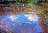 Claude Monet - Water Lily Pond #4