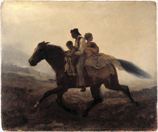 Eastman Johnson - A Ride for Liberty - The Fugitive Slaves