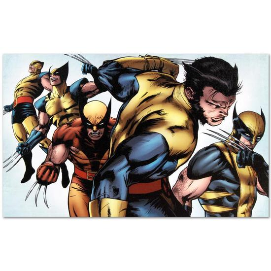 """Marvel Comics """"X-Men Evolutions #1"""" Numbered Limited Edition Giclee on Canvas by"""