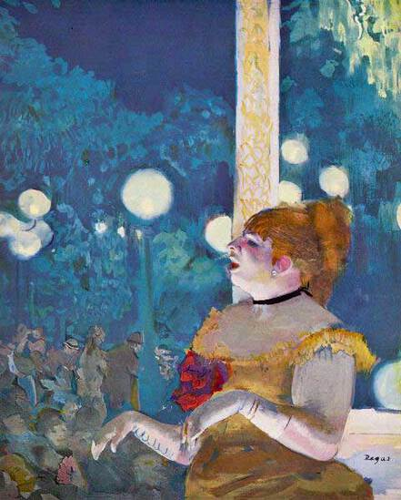 Edgar Degas - In Concert Cafe - The Songs Of The Dog