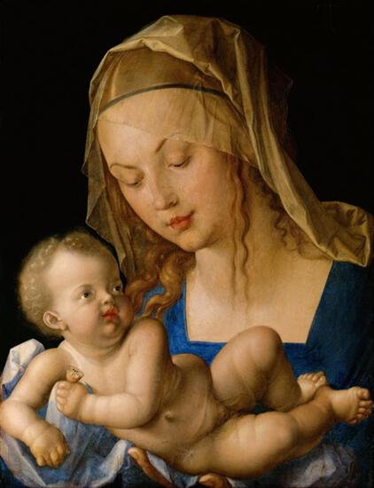 Albrecht Durer - Virgin and Child with a Pear