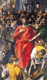 El Greco -Undressing Christ