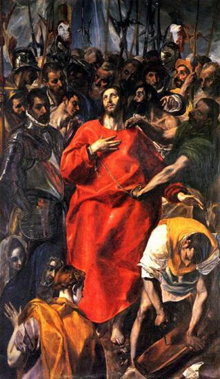 El Greco - Disrobing of Christ