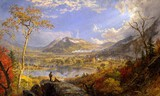 Jasper Francis Cropsey - Starrucca Viaduct, Pennsylvania