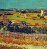 Van Gogh - The Harvest, Arles