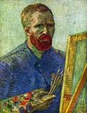 Van Gogh - Self-Portrait In Front Easel