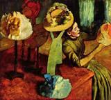 Edgar Degas - The Fashion Shop