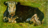 Van Gogh - Lying Cow