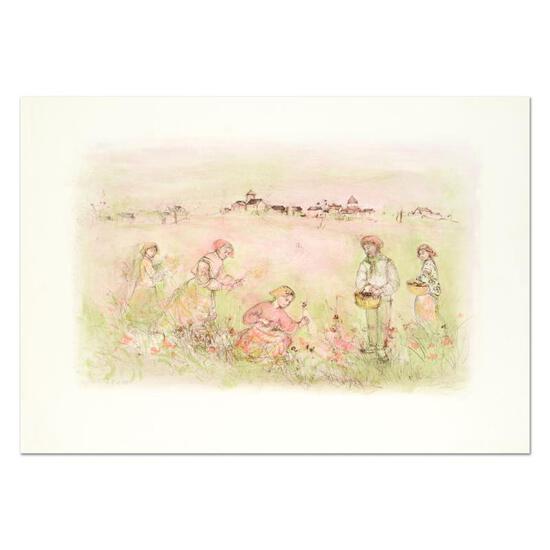 Tuscan Fields by Hibel (1917-2014)