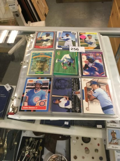 180 Chicago Cubs Baseball Cards - Excellent