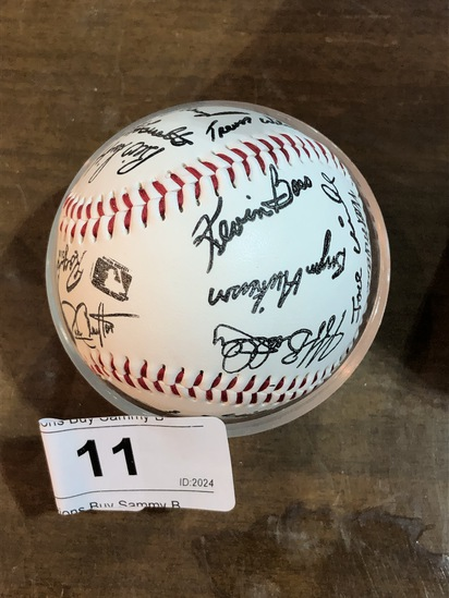 San Francisco Giants Signed Baseball in Box