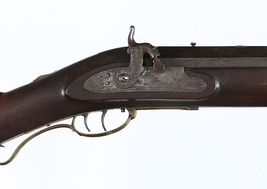 Unmarked Percussion Target Rifle .67perc