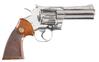 Colt Nickel Python Revolver .357 mag