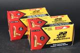 2 bricks Aguila .22 lr ammo