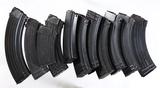 11 AK-47 magazines