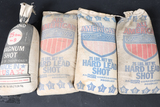 4 bags of lead shot