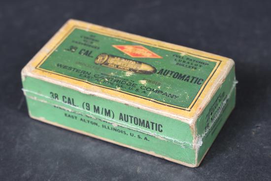 Vintage Western .38 ACP ammo