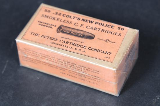 Vintage Peters .32 Colt ammo