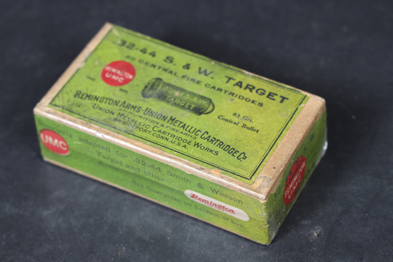 Vintage Remington .32-44 ammo