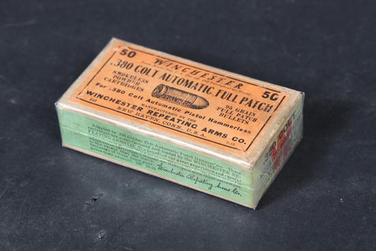 Vintage Winchester .380 ammo