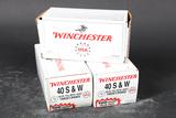 3 bxs Winchester .40 s&w ammo