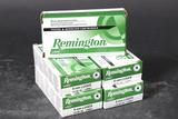 5 bxs Remington 9mm ammo