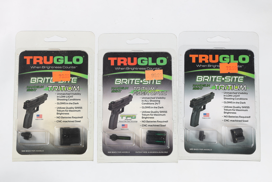 3 TruGlo sights
