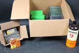 Ammo storage bxs & batteries