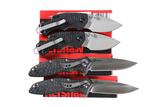 4 Kershaw folding knives