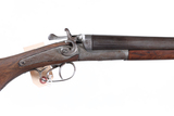 A. Greener  SxS Shotgun 12ga