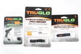 3 TruGlo sights