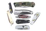 8 Folding Knives