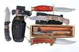 Lot of 6 various knives