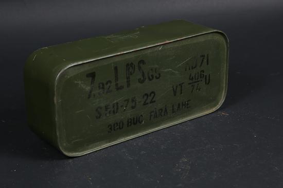 1 case 8mm Mauser ammo