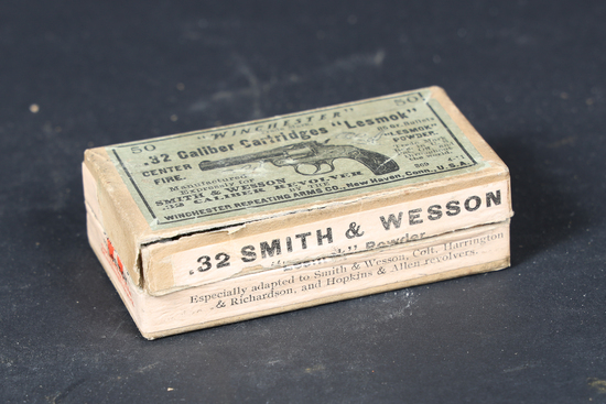 Vintage Winchester .32 S&W ammo
