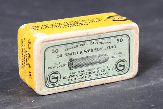 Vintage German .32 s&w long ammo