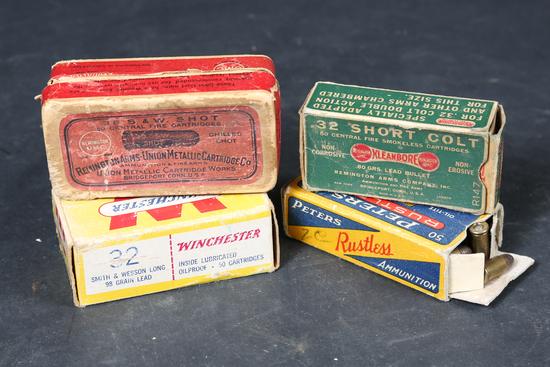 4 Partial Bxs Vintage Ammo
