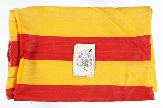 Vietnam Death Card & Flag