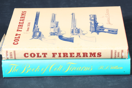 2 Colt Firearms Books