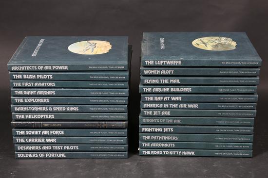 24 Epic of Flight book series
