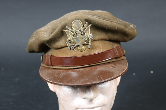 Military Officer crusher cap