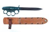 Everitt brass knuckle knife