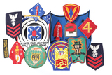 Lot of 14 military patches