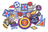 Lot of 20 military patches