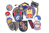 Lot of 17 military patches