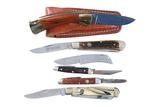 6 Boker folding knives